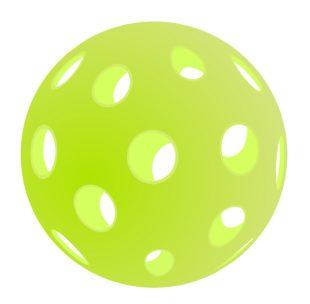 Yellow Pickleball Ball