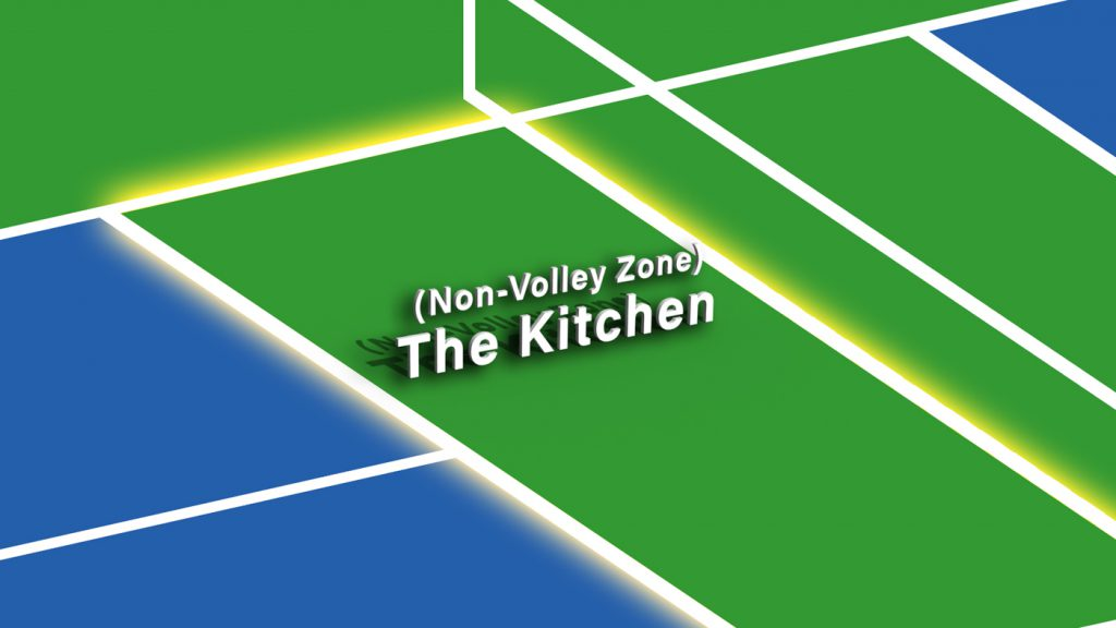 Pickleball Kitchen Non-Volley Zone Explained Thumbnail