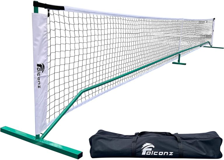 Falconz Regulation Size Pickleball Net for Outdoor and Indoor