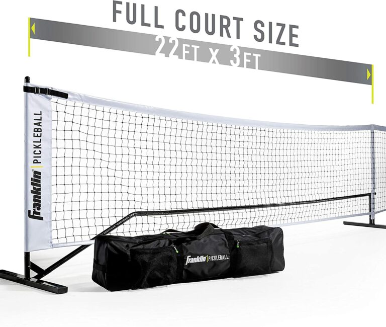 Franklin Sports Official Size Pickleball Net for Indoor and Outdoor usage