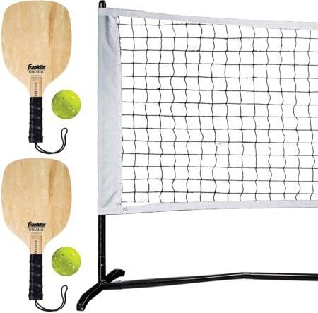 Franklin Sports Half Court Size Pickleball Net by Franklin Pickleball