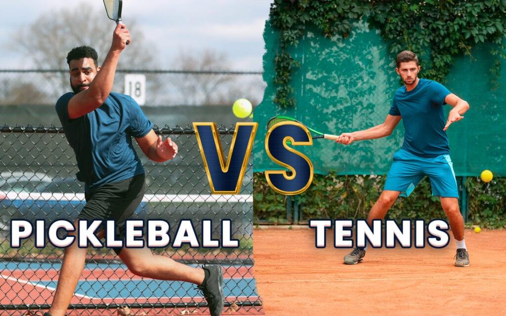 pickleball vs tennis